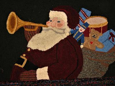 Photograph - Santa by John Scates