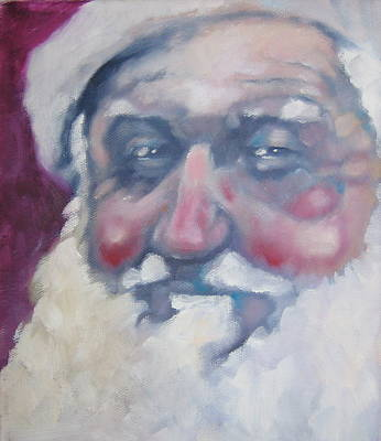 Painting - Santa by Kevin McKrell