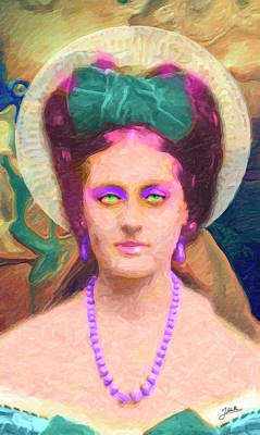 Atheist Painting - Santa Leovigilda by Joaquin Abella