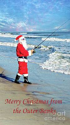 Photograph - Santa At The Outer Banks by Benanne Stiens