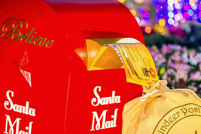 Soap Suds - Santa Mail by Jijo George