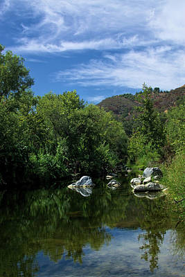 Photograph - Santa Margarita River by Richard Stephen