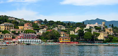 Photograph - Santa Margherita Harbor by Corinne Rhode