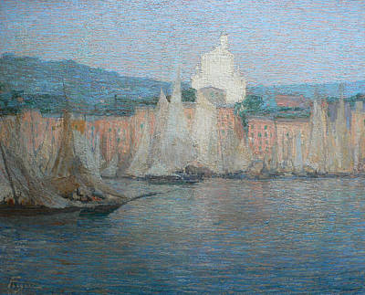 Italian Landscapes Painting - Santa Margherita Ligure by Andrea Figari