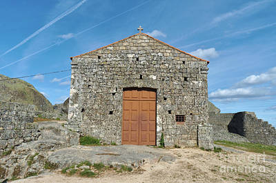 Photograph - Santa Maria Do Castelo Chapel In Monsanto by Angelo DeVal