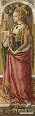 Maddalena Painting - Santa Maria Maddalena by MotionAge Designs