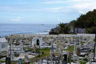 Photograph - Santa Maria Magdalena De Pazzis Cemetery, Old San Juan by Lois Lepisto