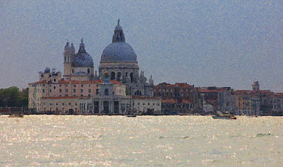 Digital Art - Santa Maria Venice by Julian Perry