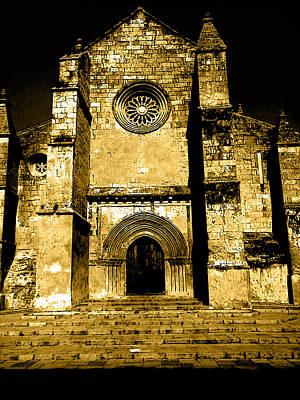 Photograph - Santa Marina Church by Laura Greco