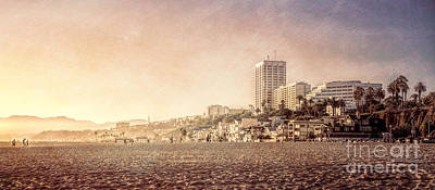 Photograph - Santa Monica Beach by Daniel Heine