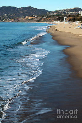 Photograph - Santa Monica Beach by Gregory Dyer