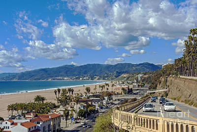 Photograph - Santa Monica Incline by David Zanzinger