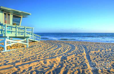 Photograph - Santa Monica Lifeguard by Kelly Wade