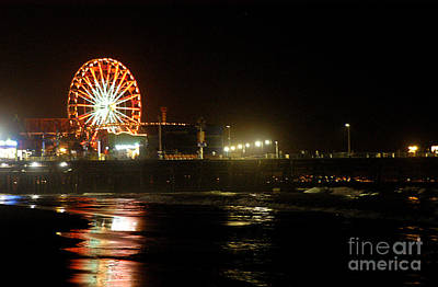 Photograph - Santa Monica Pier by Clayton Bruster