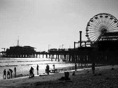 Santa Monica Pier Original by John Gusky