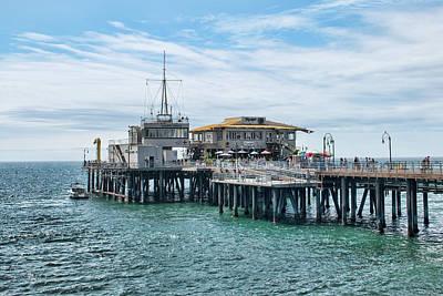 Photograph - Santa Monica Pier by Kristia Adams
