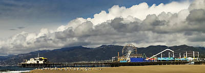 Photograph - Santa Monica Pier Pan by Joe  Palermo