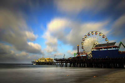 Photograph - Santa Monica Pier by R Scott Duncan
