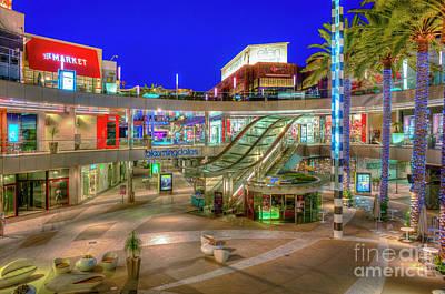 Photograph - Santa Monica Place Mall 3 by David Zanzinger