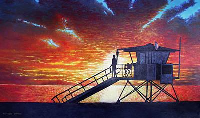 Painting - Santa Monica Sky by Douglas Castleman