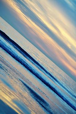 Art Print featuring the photograph Santa Monica Sunset by Kyle Hanson