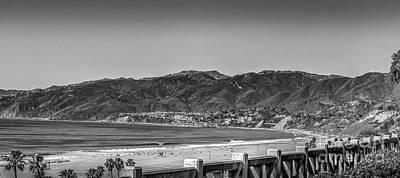 Photograph - Santa Monica, Vista, Pacific Palisades  by David Zanzinger