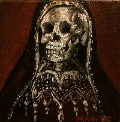 Painting - Santa Muerte Holy Death by Mani Price