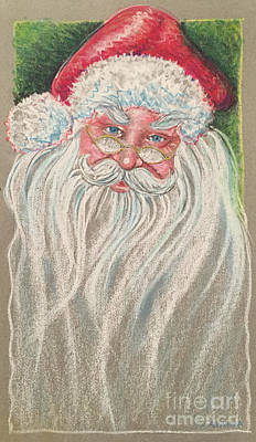 Wall Art - Painting - Santa by Raul Alsina
