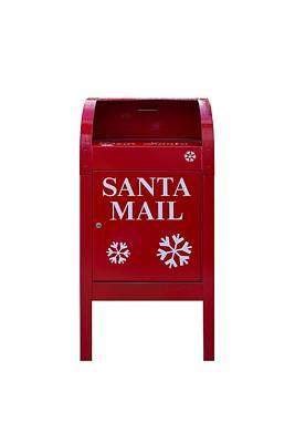 Photograph - Santa Red Mail Box by David Gn