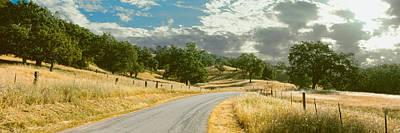 Cambria Photograph - Santa Rosa Creek Road Passing by Panoramic Images