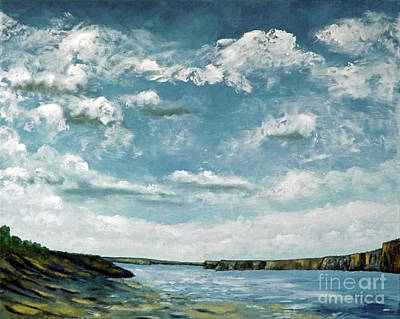 Santa Rosa Lake 1 Art Print
