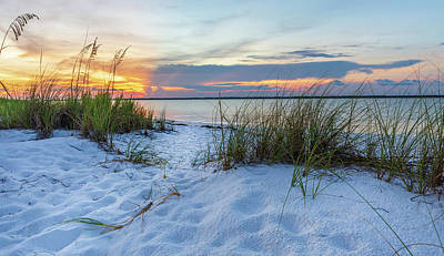 Photograph - Santa Rosa Sound Sunset by Keith Smith