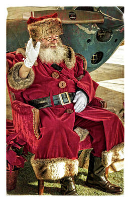 Photograph - Santa by Sandra Selle Rodriguez
