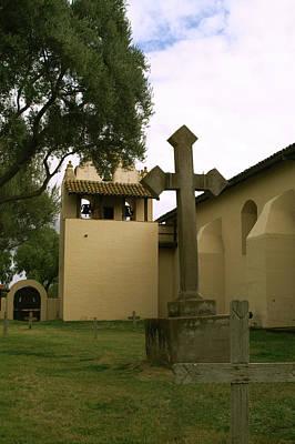 Photograph - Santa Yenez Cemetery by Gary Brandes