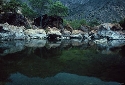 Paradise Road Photograph - Santa Ynez River by Soli Deo Gloria Wilderness And Wildlife Photography
