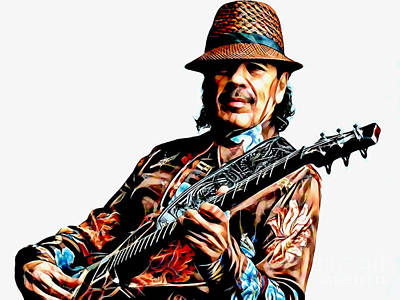 Santana Collection Art Print