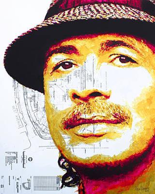 Painting - Santana by Havi