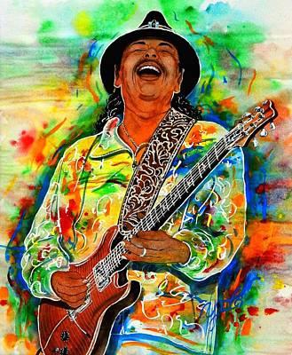 Santana Painting - Santana by John YATO