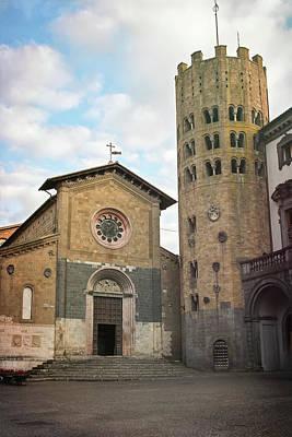 Photograph - Sant'andrea And San Bartolomeo Church Orvieto Italy by Joan Carroll