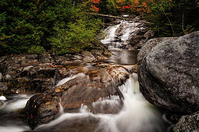 Photograph - Santanoni Brook by Bob Grabowski