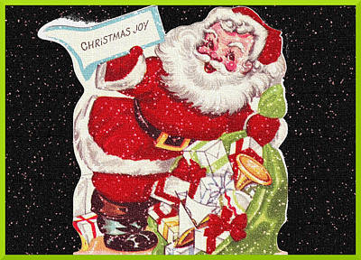 Photograph - Santa's Bag  by David and Lynn Keller