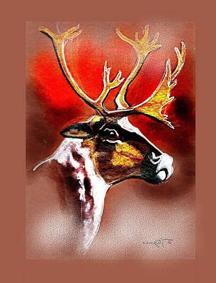 Painting - Santas Friend by Tarja Stegars