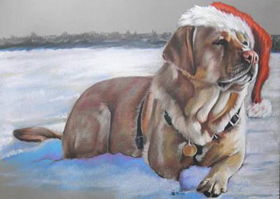 Pastel - Santa's Fuzzy Elf by Barbara Keith