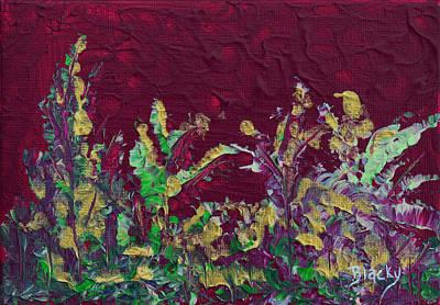 Painting - Santa's Garden by Donna Blackhall
