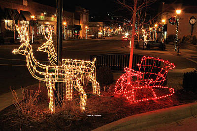 Photograph - Santas Sleigh by Bluemoonistic Images
