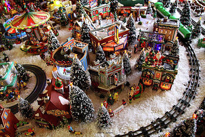 Photograph - Santa's Village by Bluemoonistic Images