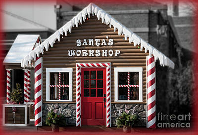 Photograph - Santa's Workshop by Deborah Klubertanz