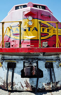 Sante Fe Railway Art Print