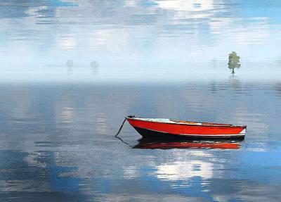 Photograph - Santee Lakes Serenity by Deborah Smith
