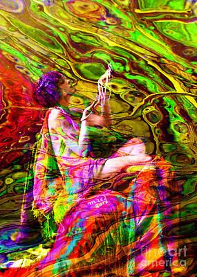 Painting - Santia Seduced By Cancer Dragon570 by Maciej Mackiewicz